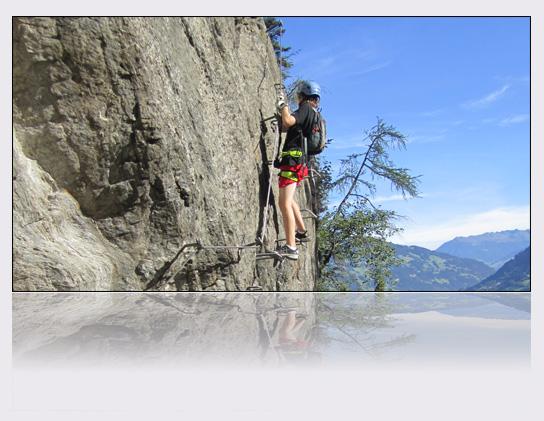 Klettersteig Huterlaner : Gc qe huterlaner traditional cache in tirol austria created